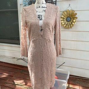 Beautiful lace dress by BeBe